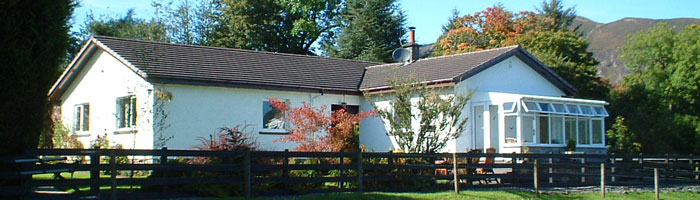 Corrieglen bed and breakfast in Aberfoyle