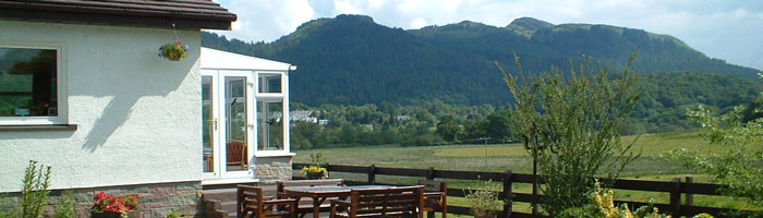 Aberfoyle is only a short walk from Corrie Glen